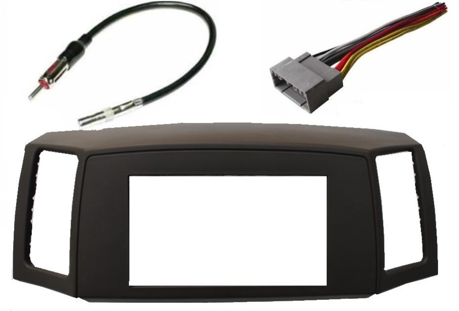 Double Din Dash Kit - Grand Cherokee 2005-2007 on