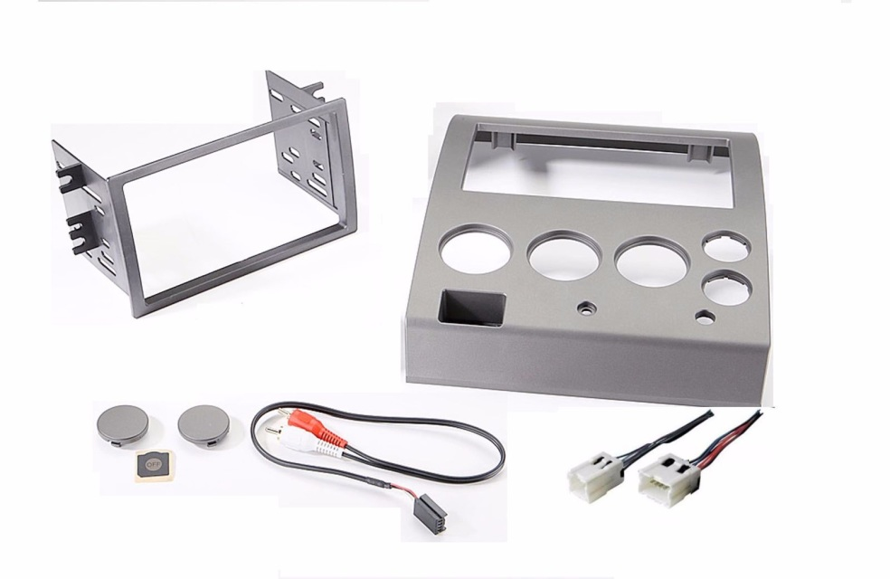 Radio stereo installation din double dash kit wire